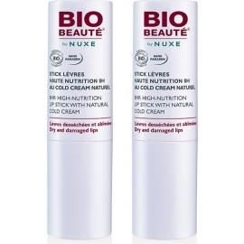 Nuxe Bio Beauté Stick lèvres Haute Nutrition 8H 2 x 4g