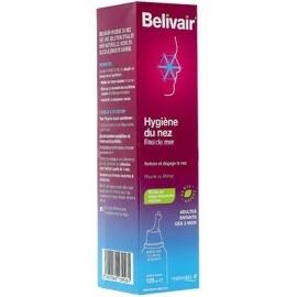Belivair Hygiène du nez Eau de Mer 125 ml