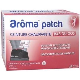 Arôma Patch Ceinture + 6 patchs Chauffants