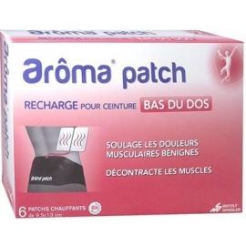 Arôma Patch Recharge Pour Ceinture Bas Du Dos x 6