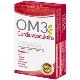 OM3 Cardiovasculaire 15 Capsules + 15 Gélules
