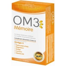 OM3 Mémoire 15 Capsules + 15 Gélules