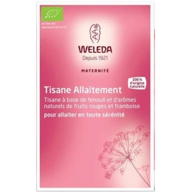 Weleda Tisane Allaitement Fruits Rouges 20 Sachets