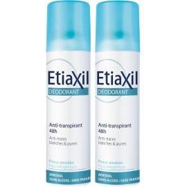 Etiaxil Deodorant Aisselles Aérosol 2 x 150 ml