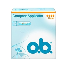 O.B. Compact Applicator Tampons Normal x 16