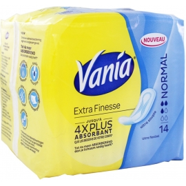 Vania Extra Finesse Serviettes Normal x 14