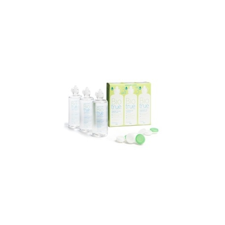 BAUSCH&LOMB BIO TRUE SOLUTION MULTIFONCTIONS YEUX  3 x 300 ml
