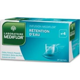 Mediflor n°4 Rétention d'Eau x 24 Sachets