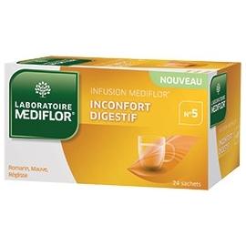 Mediflor N°5 Infusion Inconfort Digestif x 24 Sachets