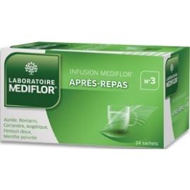 Mediflor n°3 Infusion Après-Repas x 24 Sachets
