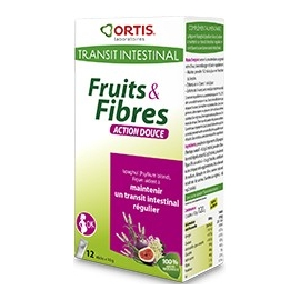 Ortis Fruits & Fibres Action Douce Sticks x 12