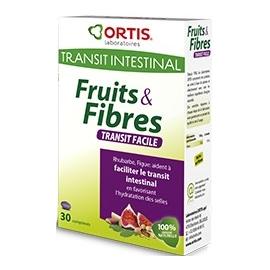 Ortis Fruits & Fibres Transit Facile Cubres à Mâcher x 12