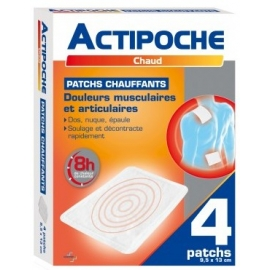 actipoche patchs chauffants x 4