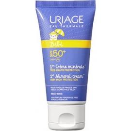 Uriage Bébé 1ère Crème Minérale Spf 50 Très Haute Protection 50 ml