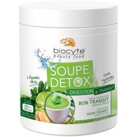 Biocyte Beauty Food Soupe Detox Digestion & Transit Poudre à Diluer 112g