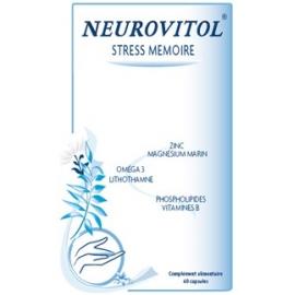 NEUROVITOL STRESS MEMOIRE 60 CAPSULES