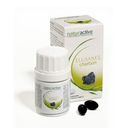 Naturactive Elusanes charbon 60 capsules
