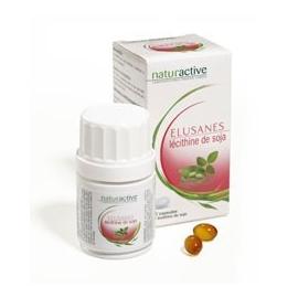 Naturactive Elusanes lécithine de soja 60 capsules