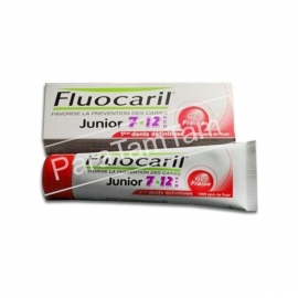 Fluocaril Dentifrice Junior 7/12 Ans Gout Fraise 50 ML