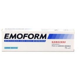 Emoform Dentifrice aux Sels Minéraux - Menthe 75 ml
