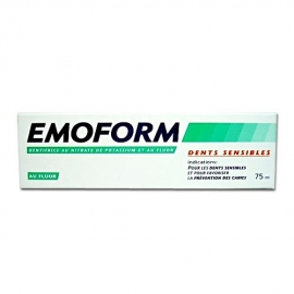 Emoform Dentifrice Dents Sensibles 75 ml