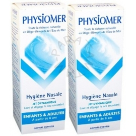 Physiomer Jet Doux Adulte et Enfant 135 ml X 2