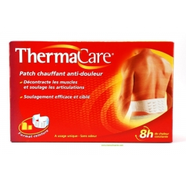 Thermacare Patch Chauffant Antidouleur Ceinture 4 Patchs