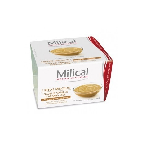 Milical Coupelle Vanille / Caramel