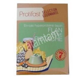 Protifast En-cas Hyperproteine Selection Gourmande Preparation Pour Flan Pistaches 7 Sachets