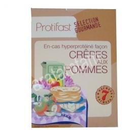 Protifast En-cas Hyperproteine Selection Gourmande Preparation Pour Crepes Aux Pommes 7 Sachets
