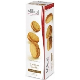 Milical 12 Biscuits Saveur Cafe