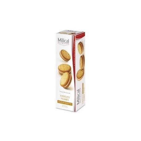 Milical 12 Biscuits Saveur Noisette