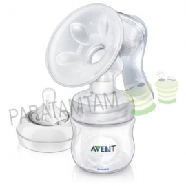 Avent natural tire-lait manuel