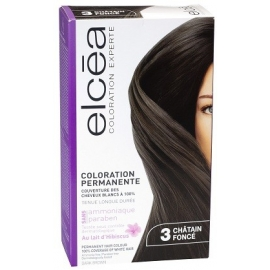 Elcea Coloration Permanente Chatain Fonce 3