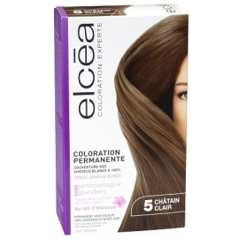 Elcea Coloration Permanente Chatain Clair 5
