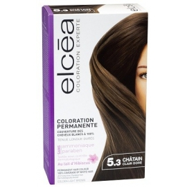 Elcea Coloration Permanente Chatain Clair Dore 5.3