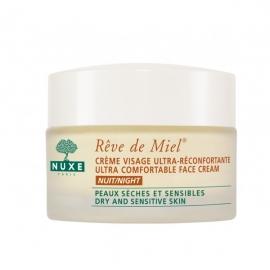 Nuxe Rêve de Miel Crème Visage Nuit 50 ml