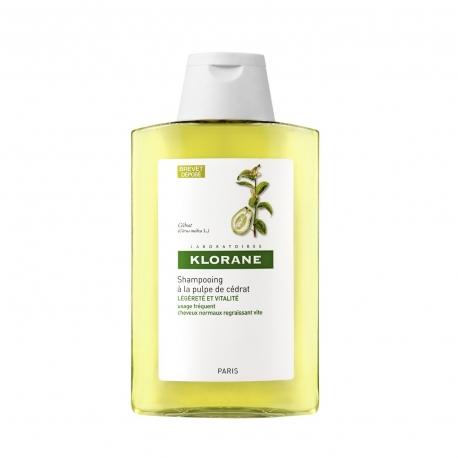 Klorane Capillaire Shampooing a la Pulpe de Cedrat 200ml