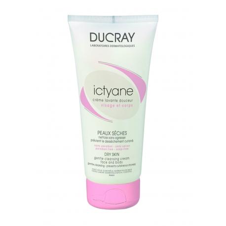 Ducray Ictyane Creme Lavante Douceur 200ml