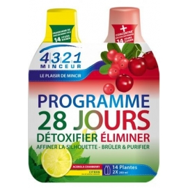 Arkopharma 4.3.2.1 Minceur Programme 28 jours Acerola Cranberry 2x280 ml