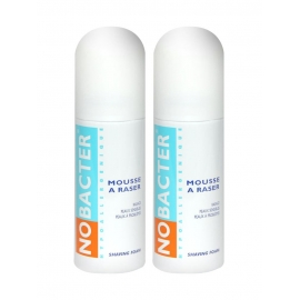 Nobacter Mousse a Raser 2 x 150 ml