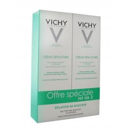 Vichy Crème Dépilatoire Dermo-Tolérance Lot de 2 x 150 ml