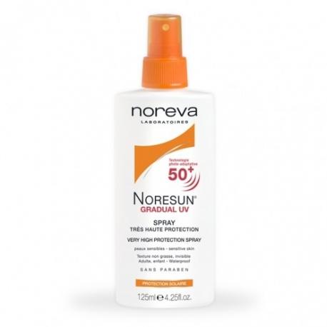 Noresun Gradual UV Spf 50+ Spray 125 ml