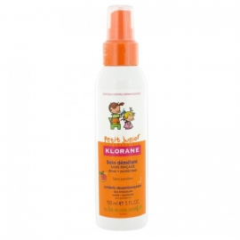 Klorane Petit Junior Spray Démêlant Parfum Pêche 150 ml