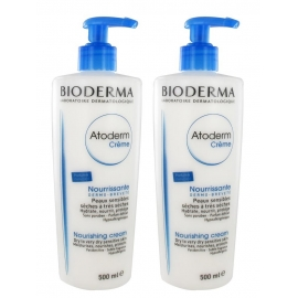 Bioderma Atoderm Crème Pompe Parfumée 500 mL