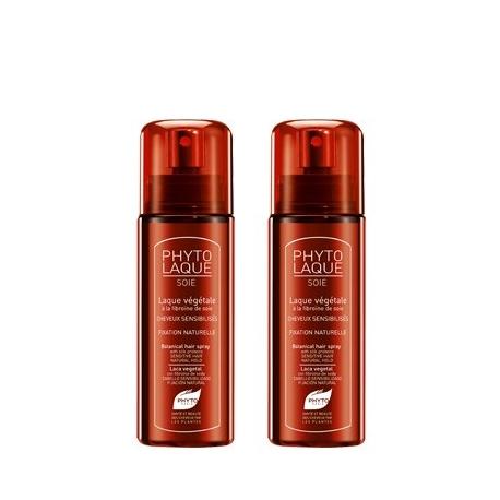Phytolaque Soie Spray Cheveux Sensibilises 2 x 100 ml
