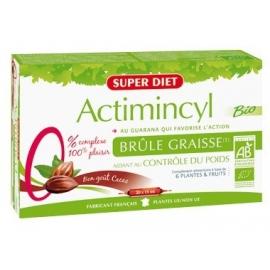 Super Diet Actimincyl Bio Brûle Graisse 20 ampoules x 15 ml