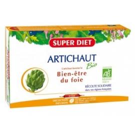 Super Diet Artichaut Bio Bien-être du Foie 20 Ampoules