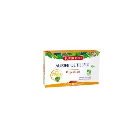 Super Diet Aubier De Tilleul Bio Digestion x 20 ampoules