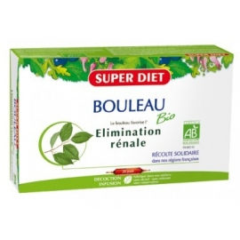 Super Diet Bouleau Bio Elimination Rénale 20 ampoules